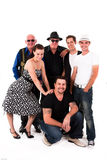 Group of People of Various Ages Royalty Free Stock Images