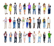 Group of People with Various Concepts Stock Images
