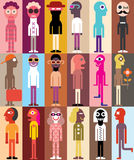 Group of People vector illustration Royalty Free Stock Photo