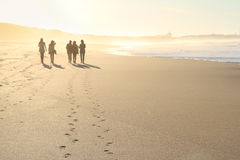 Group of people walking Stock Images