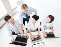 Group of people working in call center Stock Image