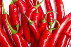 A Group of Peppers Stock Images