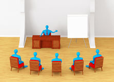 Group of persons on the meeting Royalty Free Stock Images