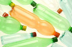 Plastic bottles for recycling Stock Photography