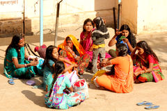Group pf Indian girls Royalty Free Stock Photography