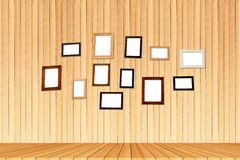 Group photo frames Stock Photography