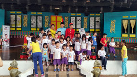 Group Photo of Kids Stock Photo