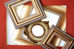 Group of Picture Frames Royalty Free Stock Photo