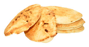 Group Of Pitta Breads Royalty Free Stock Photos