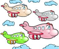Group of Plane Royalty Free Stock Image