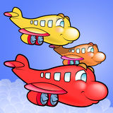 Group of Plane Royalty Free Stock Photo