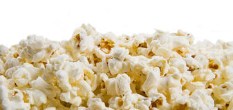 Group of Popcorn texture background Stock Images