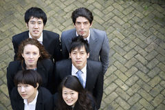 Group of portrait of diverse business group Royalty Free Stock Photo
