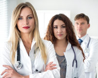 Group portrait of medical doctors team Stock Photography