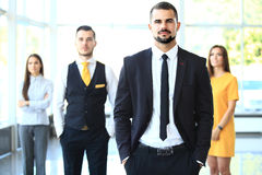 Group portrait of a professional business team Royalty Free Stock Image