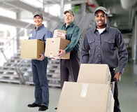 Group of postman. Stock Image