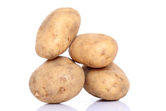Group of potatoes Stock Photos