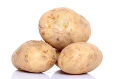 Group of potatoes Royalty Free Stock Photography