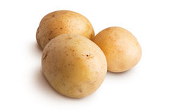 Group of potatoes Royalty Free Stock Image