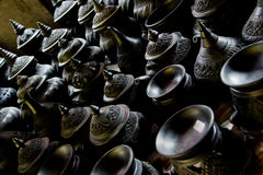 Group of  Pottery Royalty Free Stock Images