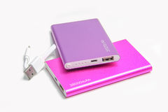 Group of power bank Stock Image