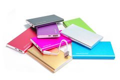 Group of power bank Stock Photography