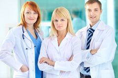 Group of practitioners Stock Images