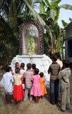 Group prayer Stock Image