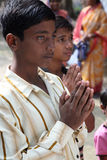 Group prayer Royalty Free Stock Photo