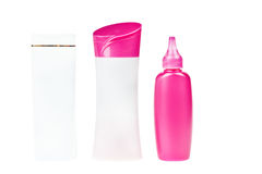 Group of product packaging Stock Image
