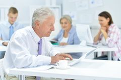 Group of professional architects working. In modern office royalty free stock images