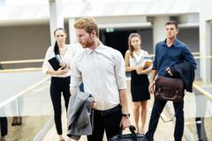 Group of professional business people stock photos