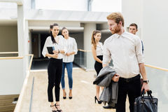 Group of professional business people Stock Photography