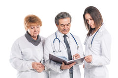 A group of professional doctors. Stock Photography