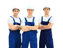 Group of professional industria Royalty Free Stock Images