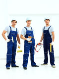 Group of professional industrial Royalty Free Stock Photo