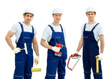 Group of professional industrial Stock Images