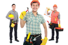 Group of professional male engineer Stock Photography