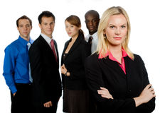 Group of Professionals Stock Image