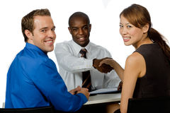 Group of Professionals Royalty Free Stock Photo