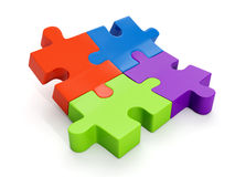 A group of puzzles Stock Image