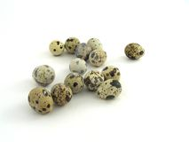 Group quail eggs Royalty Free Stock Photo