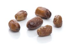 A Group of Ramadan Dried Dates Royalty Free Stock Photography