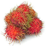 A group of rambutan Stock Images