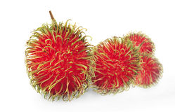 Group of rambutans Royalty Free Stock Images