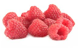 Group of raspberries Stock Images