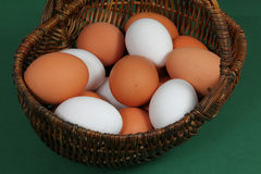 Group of raw eggs Royalty Free Stock Image
