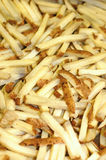 A group of raw french fries Royalty Free Stock Image