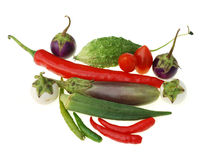 Group of raw vegetable Royalty Free Stock Photography