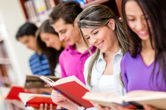 Group of readers Royalty Free Stock Photography